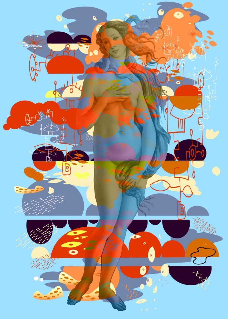 Venus in Blue Furs